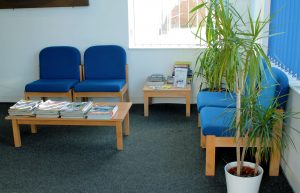 Relax in our waiting area while we carry out your MOT