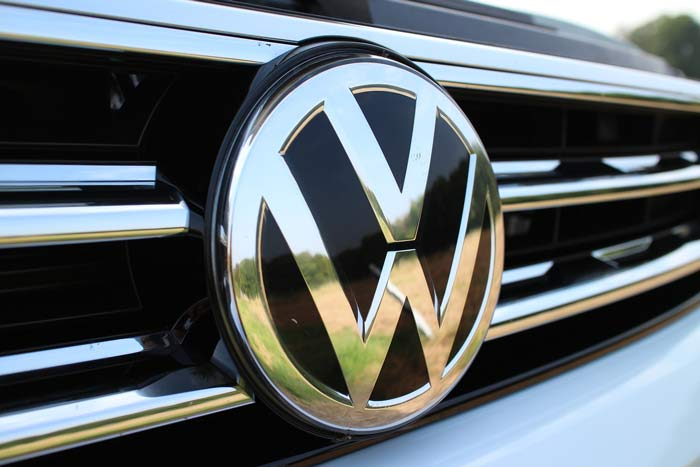 VW front grille